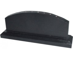 """Black wooden table base for 4x6"""" stick flags, 10 hole, Fa..."""