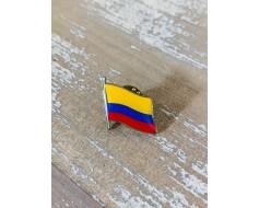Colombia Lapel Pin (Single Waving Flag)