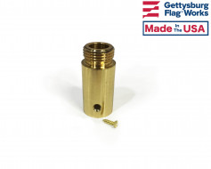 Finial Ferrule for Swedged Wood Pole