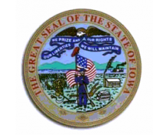 Iowa Seal Sticker