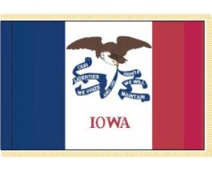 Iowa Flag - Indoor
