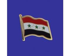 Iraq Lapel Pin (Single Waving Flag)