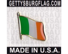 Ireland Lapel Pin (Single Waving Flag)