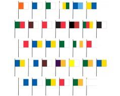 "Ireland County Colors Complete Stick Flag Set - 4x6"""