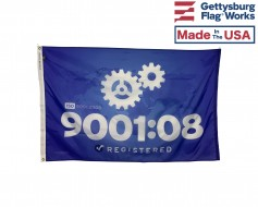 ISO 9001:2008 Quality Flag - Choose Options