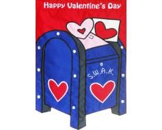 Valentine's Mailbox Garden Flag