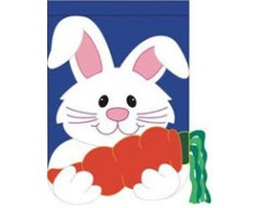 Bunny Carrot House Banner