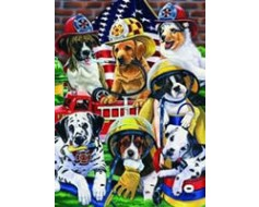 Firehouse Dogs House Banner