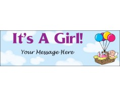 It's a Girl Banner