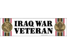 Iraq War  Veteran Magnet