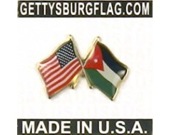 Jordan Lapel Pin (with US Flag)