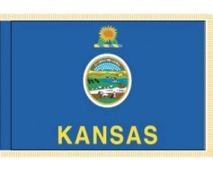 Kansas Flag - Indoor