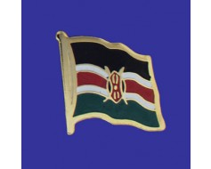 Kenya Lapel Pin (Single Waving Flag)