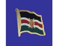 Kenya Lapel Pin (Single Waving Flag)
