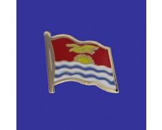 Kiribati Lapel Pin (Single Waving Flag)