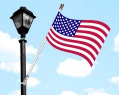 Light Pole Flags & Street Pole Flag Sets