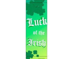 Luck of the Irish Avenue Banner
