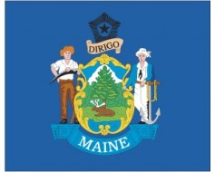 Maine Flag - Outdoor