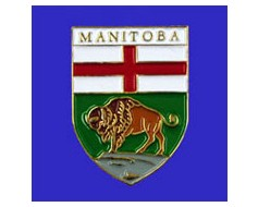 Manitoba Lapel Pin (Shield)