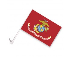 Marine Corps Car Window Flag-12x18""