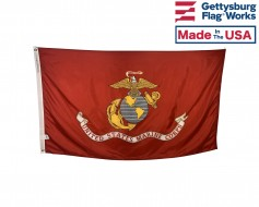US Marine Corps Flag - Official Seal