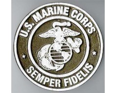 Marine Corps Aluminum Grave Marker