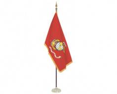 Marine Corps Indoor Flag Set