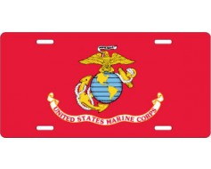 US Marine Corps License Plate