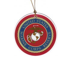 Christmas Ornament Marine Corps Reserved