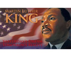 Martin Luther King Jr. Flag - 3x5'