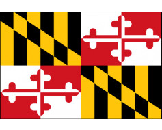 Maryland Flag - Outdoor
