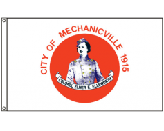 Mechanicville City Flag
