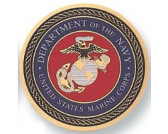 US Dept Of Navy United States Marine Corps Medallion