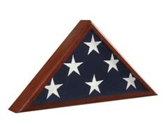 Memorial Flag Case Cherry #90