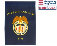 Merchant Marine Garden Flag