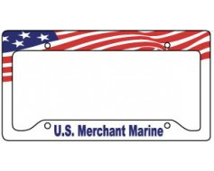 Merchant Marine License Plate Frame