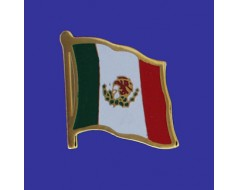 Mexico Lapel Pin (Single Waving Flag)