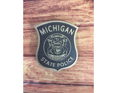Michigan State Police Grave Marker