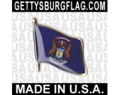 Michigan State Flag Lapel Pin