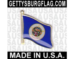 Minnesota State Flag Lapel Pin
