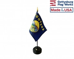 "Montana State Stick Flag - 4x6"""