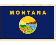 Montana Flag - Indoor