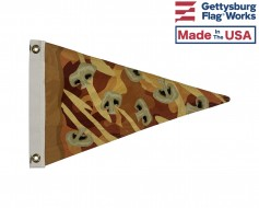 Pizza Pennant Boat Flag- Choose Toppings