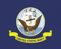 US Navy Flag - Official Seal
