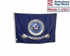 US Navy Retired Flag - 3x4'