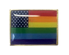 New Glory Rainbow Lapel Pin