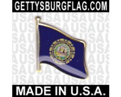 New Hampshire State Flag Lapel Pin
