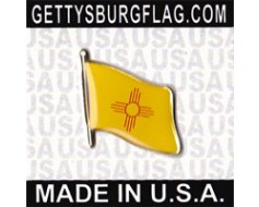 New Mexico State Flag Lapel Pin