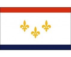 New Orleans City Flag (Louisiana, USA)