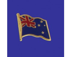 New Zealand Lapel Pin (Single Waving Flag)